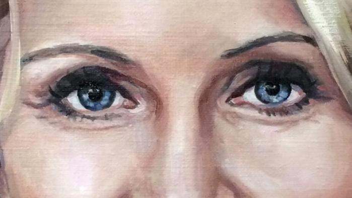 Hvis Helle Thornings nye portræt var en Tinder-profil, ville den post-faktuelle vælger swipe uinteresseret til venstre. Men betragtet som kunstværk er det vellykket - måske lidt for vellykket, funderer kunstkritiker og journalist, Michael Jeppesen
