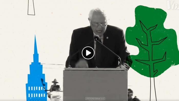 Bernie Sanders distinkte New York City dialekt, forklaret