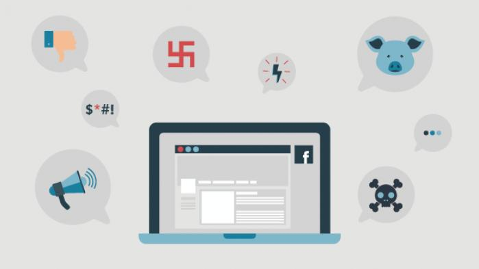 Hver syvende kommentar i debatsporene på DR- og TV2 Nyhedernes Facebook-profiler er fuld af had, mener Institut for Menneskerettigheder