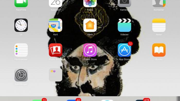 Støjberg har Muhammedtegning som baggrundsskærm på sin iPad