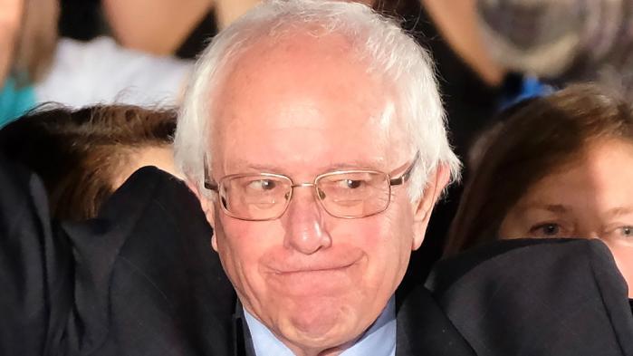 Sanders i sejrstale: Folket vil have ægte forandring