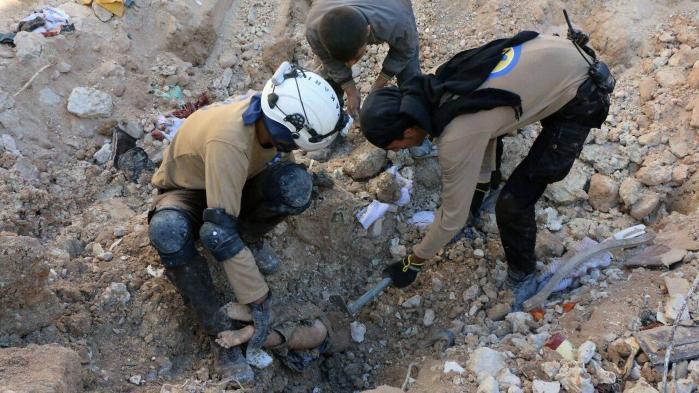 Nødhjælpsgrupper melder om blodbad i Aleppo