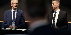 Efter offentliggørelsen af Ørsteds salg af Radius, afholdt køberne, SEAS-NVEs bestyrelsesformand Jens Stenbæk og adm. direktør Jesper Hjulmand, et pressemøde, hvor de uddybede rationalet bag handlen.