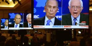 Tidligere borgmester i New York Michael Bloomberg fik sin debut på scenen til Demokraternes debat – og blev hurtigt skydeskive for de andre kandidater.