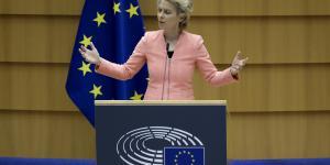 EU's kommissionsformand Ursula von der Leyen leverede torsdag en tale, der giver håb for den grønne omstilling.