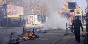 23 blev anholdt og tre fængslet under urolighederne i forbindelse med Rasmus Paludans demonstration den 14. april 2019.
